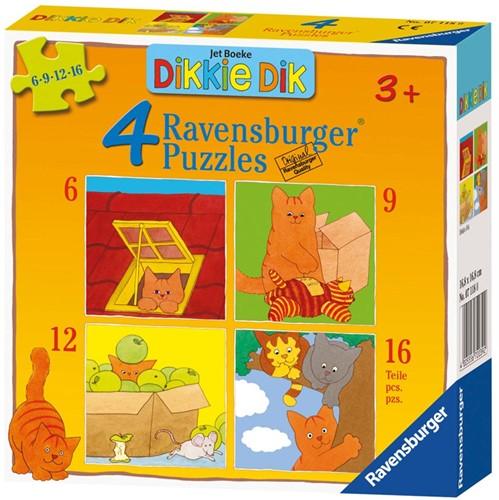 Dikkie Dik Puzzel (4 in 1)-1