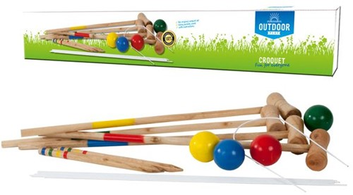 Outdoor Play - Croquet Set