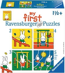 My First - Nijntje Puzzel (4 in 1)