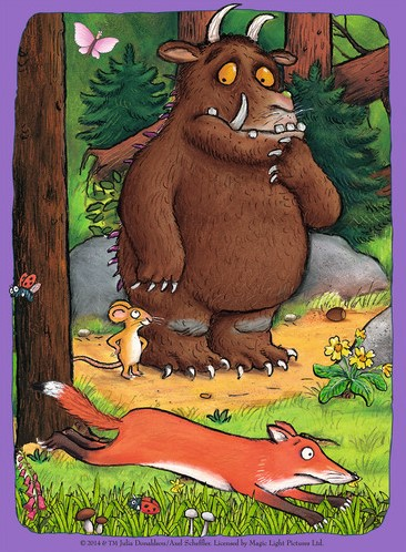 The Gruffalo Puzzel (4 in 1)-3