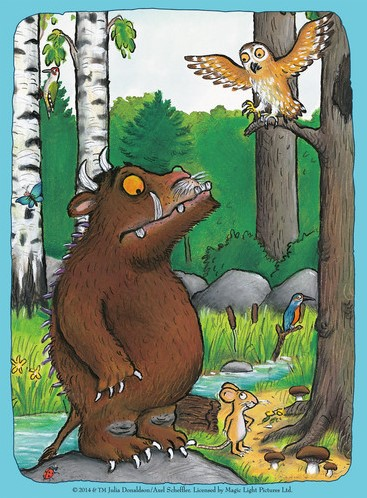 The Gruffalo Puzzel (4 in 1)-2
