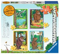 The Gruffalo Puzzel (4 in 1)