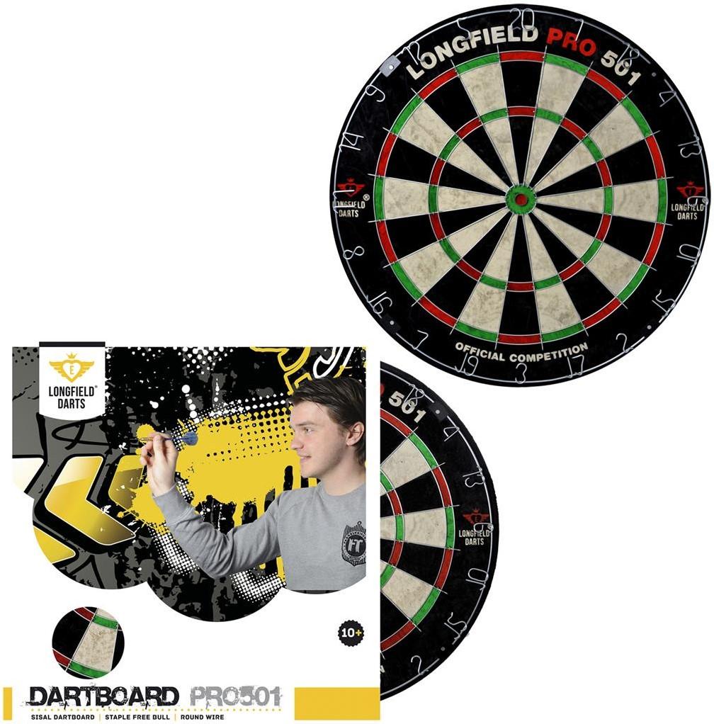 Longfield Dartbord Pro 501 Kopen Bij Spellenrijk Nl
