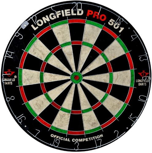 Longfield Dartbord PRO 501