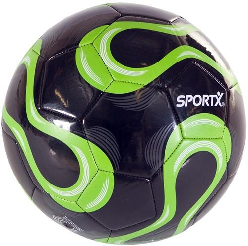 SportX Voetbal Zwart/Groen