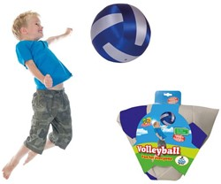 Summertime - Volleybal Zilver/Blauw