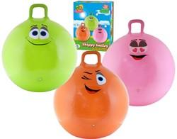 Summertime - Skippybal Smiley 70cm - Oranje