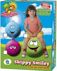 Summertime - Skippybal Smiley 55cm - Roze