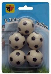 Voetbaltafelballen 5 stuks