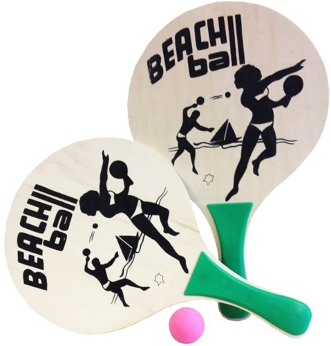 Summertime - Beachball Set Naturel