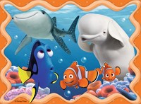 Finding Dory 4-in-1 Puzzel