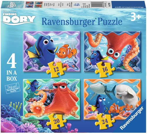 Finding Dory Puzzel (4 in 1)-1