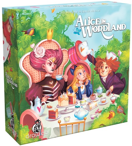 Alice in Wordland - Bordspel