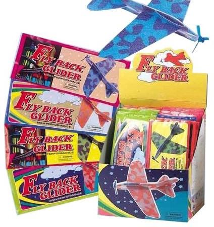 Fly Back Glider Vliegtuigje