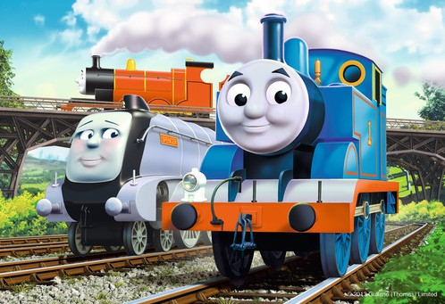 Thomas & Friends Puzzel (2x12 stukjes)-3