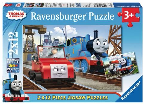 Thomas & Friends Puzzel (2x12 stukjes)-1