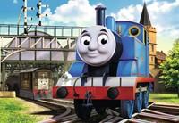 Thomas de Locomotief Puzzel (2x12 stukjes)-3
