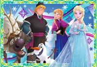 Disney Frozen Plezier in de Winter Puzzel (2x12)-3