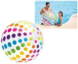 Intex - Grote Strandbal - Stippen (107 cm)