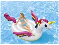 Intex Opblaasbare Mega Unicorn Ride-on