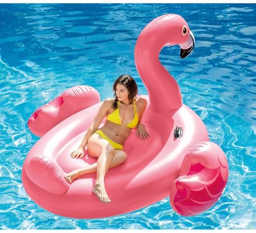 Intex Opblaasbare Mega Flamingo Ride-on-2