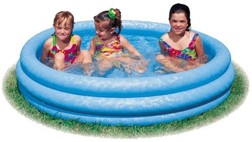 Intex - Crystal Blue Kinderzwembad (114 cm) (Open geweest)