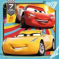 Disney Cars 3 Puzzel - Legendes van de baan (3 x 49 stukjes)-2