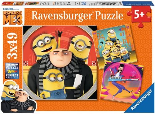 Minion Fail Puzzel - Despicable Me 3 (4 in 1)