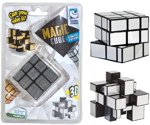 Magic Cube Family 3D - Zilver