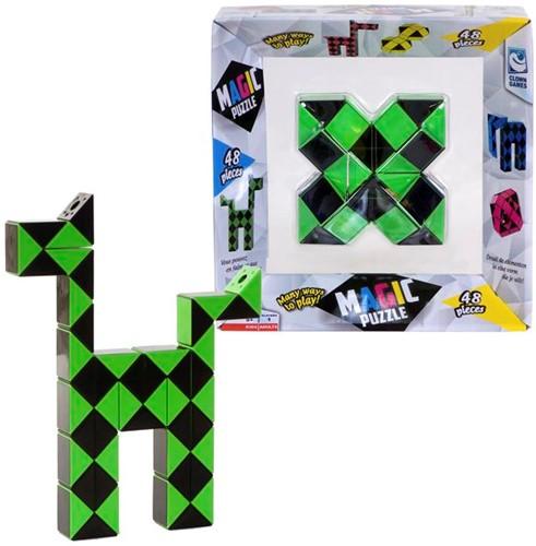 Magic Puzzle - Groen