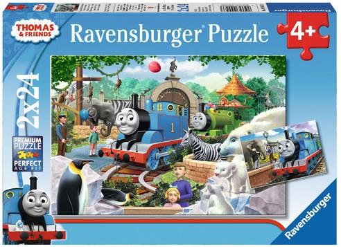 Thomas en zijn Vrienden Puzzel (2x24 stukjes)-1