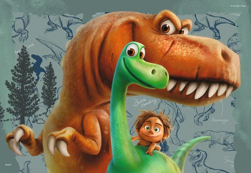 The Good Dinosaur Puzzel (2x24 stukjes)-2