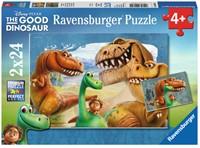 The Good Dinosaur Puzzel (2x24 stukjes)