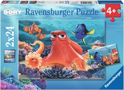 Finding Dory - Altijd Zwemmen Puzzel (2x24 stukjes)