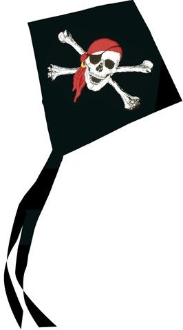 Mini Piraten Vlieger