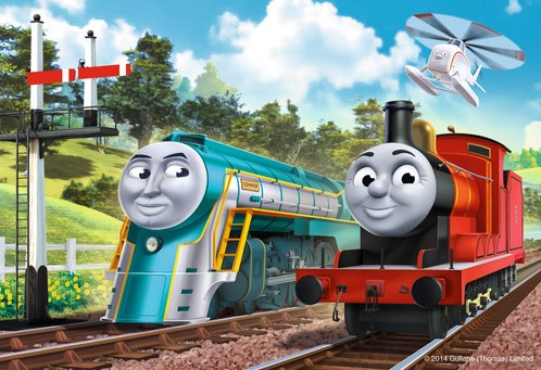 Thomas & Friends Puzzel (2x24 stukjes)-3