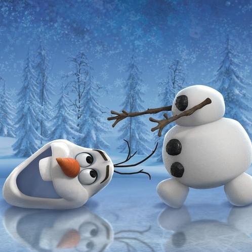Disney Frozen - Avontuur in Winterland Puzzel (3x49 stukjes)-3