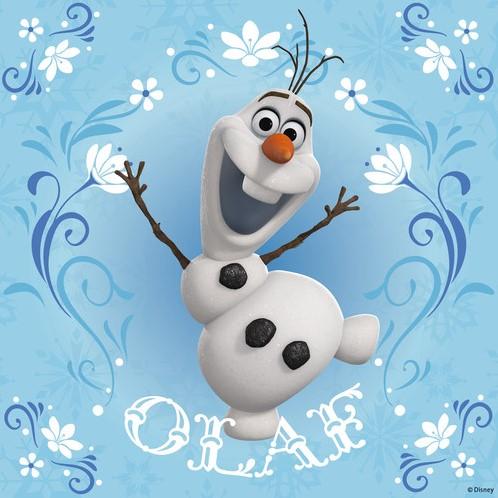 Disney Frozen - Elsa, Anna & Olaf Puzzel (3x49 stukjes)-2