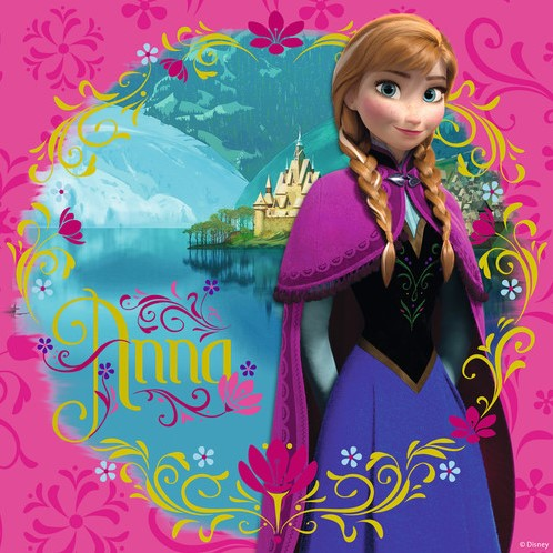 Disney Frozen - Elsa, Anna & Olaf Puzzel (3x49 stukjes)