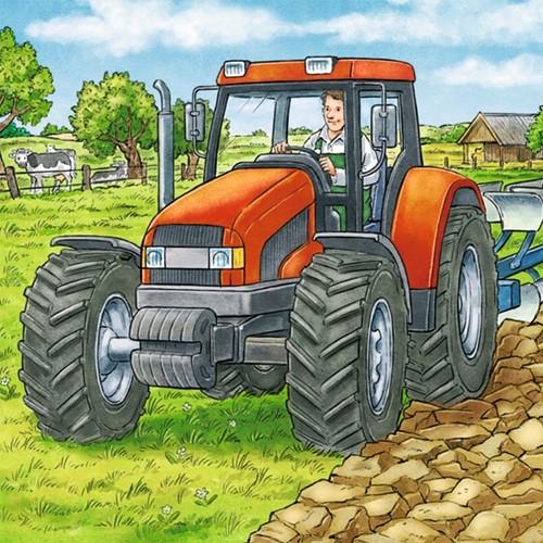 Grote Landbouwmachines Puzzel (3x49 stukjes)-2