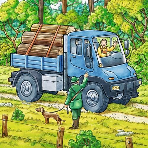 Grote Landbouwmachines Puzzel (3x49 stukjes)-3