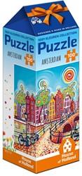 1001 Kleuren - Amsterdam Puzzel (100 stukjes)