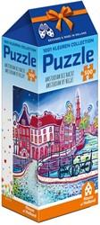 1001Kleuren - Amsterdam bij Nacht Puzzel (500 stukjes)