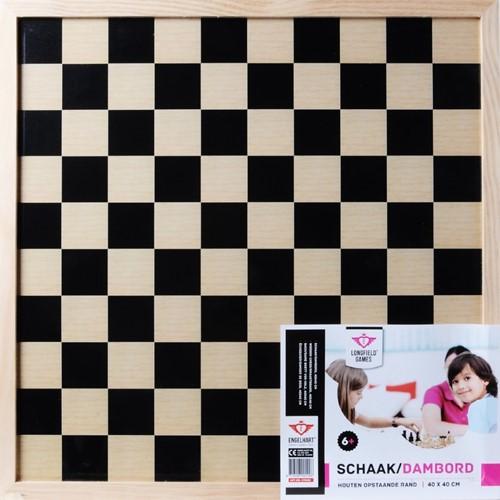 Dam & Schaakbord (40 cm)
