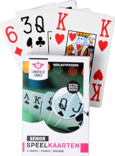 Speelkaarten - Longfield Senior