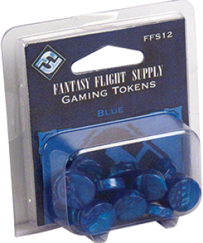 Gaming Tokens - Blue