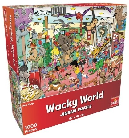 Wacky World - Pet Shop Puzzel (1000 stukjes)