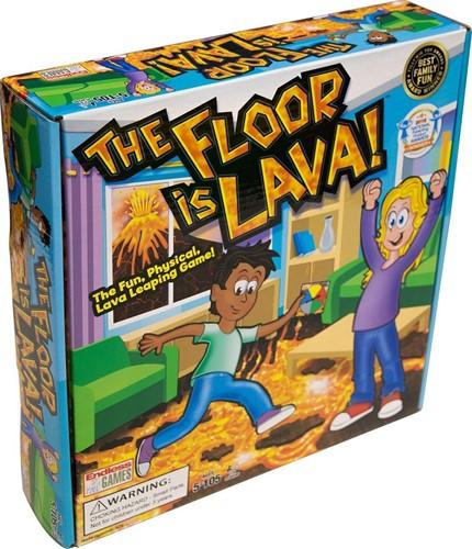 The Floor is Lava - Kinderspel