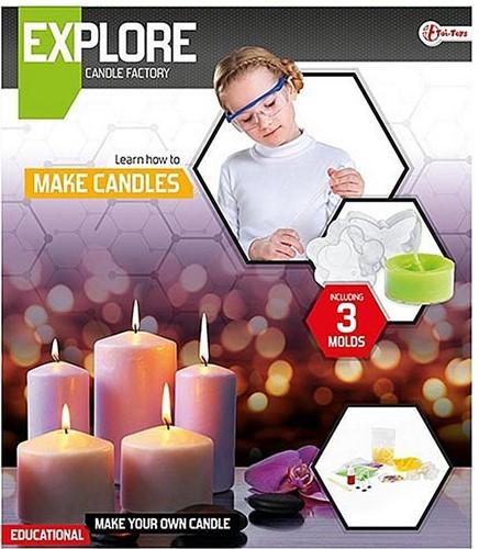 Explore Set - Kaarsen