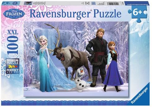 Disney Frozen Puzzel (100 XXL stukjes)